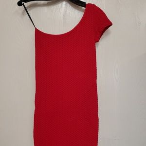 Bebe One Shoulder Dress